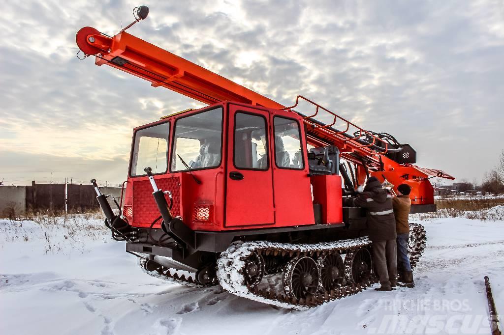 [Other] DrillRig УРБ на трелевочном тракторе