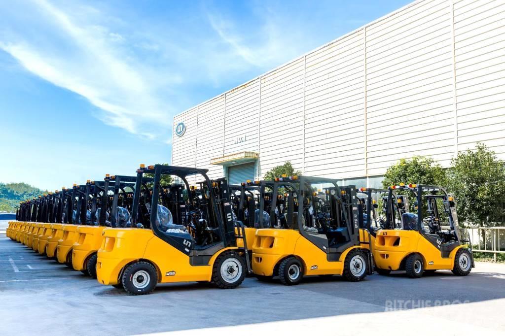 UN Forklift FB15 1.5ton 4 Wheel Electric Forklift ZAPI