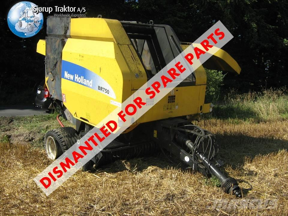 New Holland BR 750