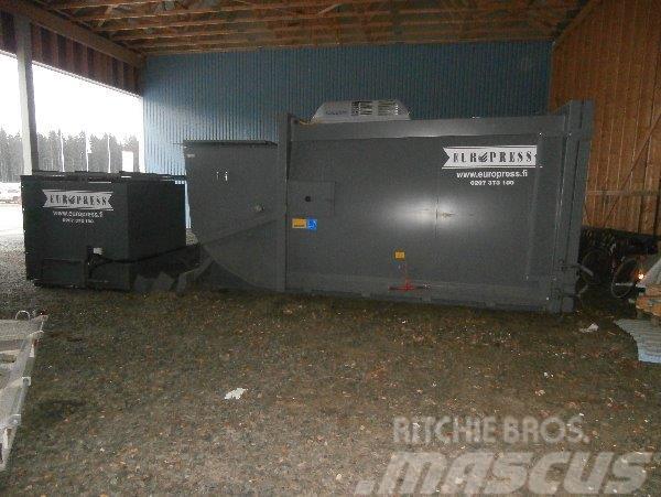 Europress Combio 17m3 Lumikko kylmäkone biojätteel