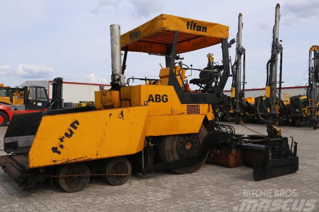 ABG Titan 455, 1995, Asfaltsläggningsmaskiner