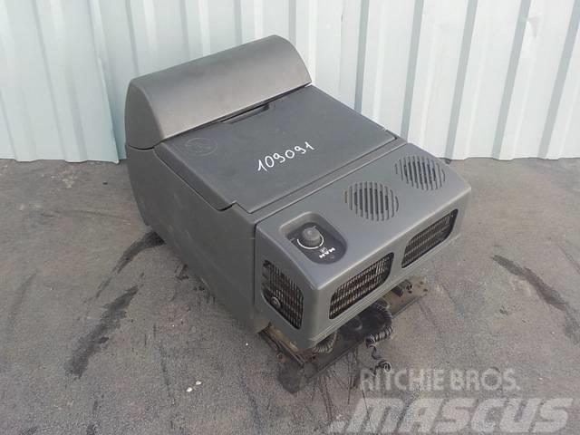 MAN TGA Cooler box 81613356061/81639106010/81613356052