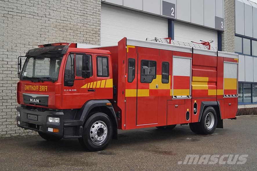MAN CLA 16.220 BB FIRE FIGHTER TRUCK (6 units)