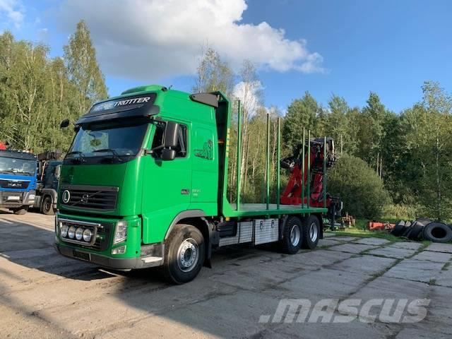 Volvo FH13 500 6X4 do przewozu drewna,z Niemiec