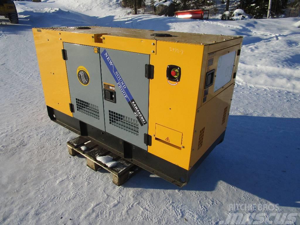 Kawakenki 40kVA aggregaatti / generaattori (Q05)