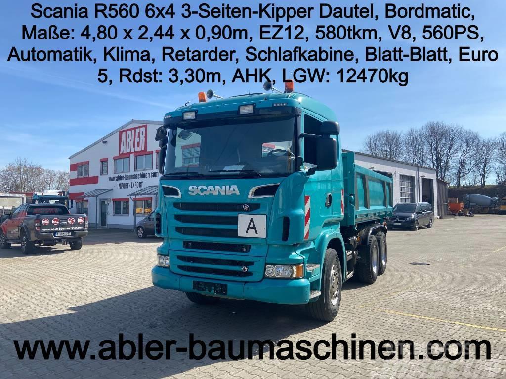 Scania R 560 3-Seiten Kipper m. Bordmatic