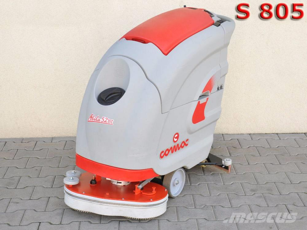 [Other] SCRUBBER COMAC ABILA 52 BT / New Batteries / 414 m