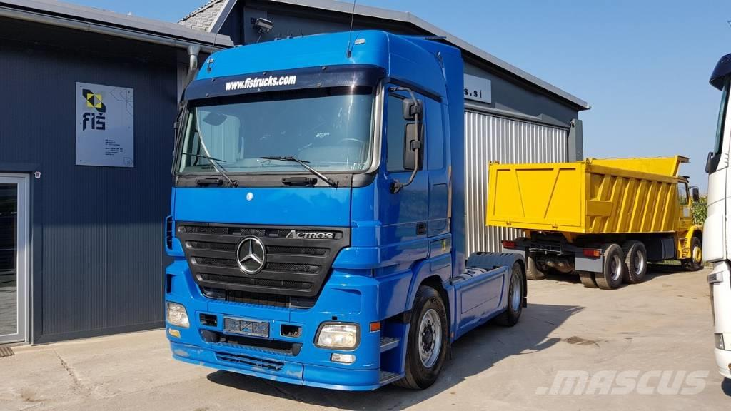 Mercedes-Benz ACTROS 1846 4X2 tractor unit - EURO 5