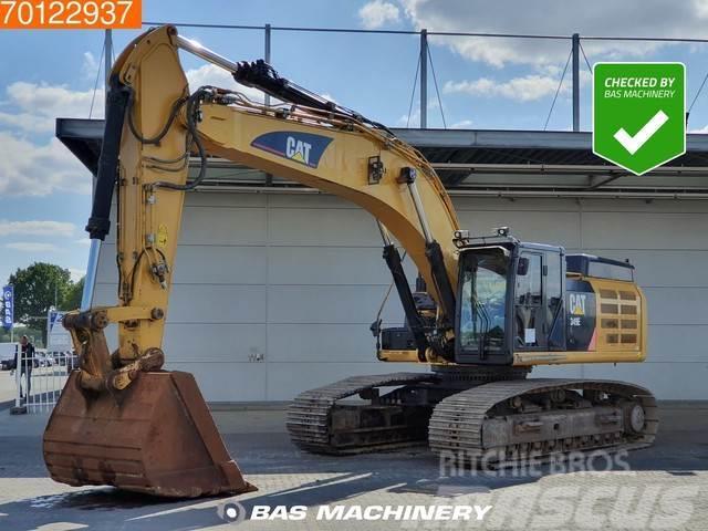 Caterpillar 349 E L Dutch machine - all functions