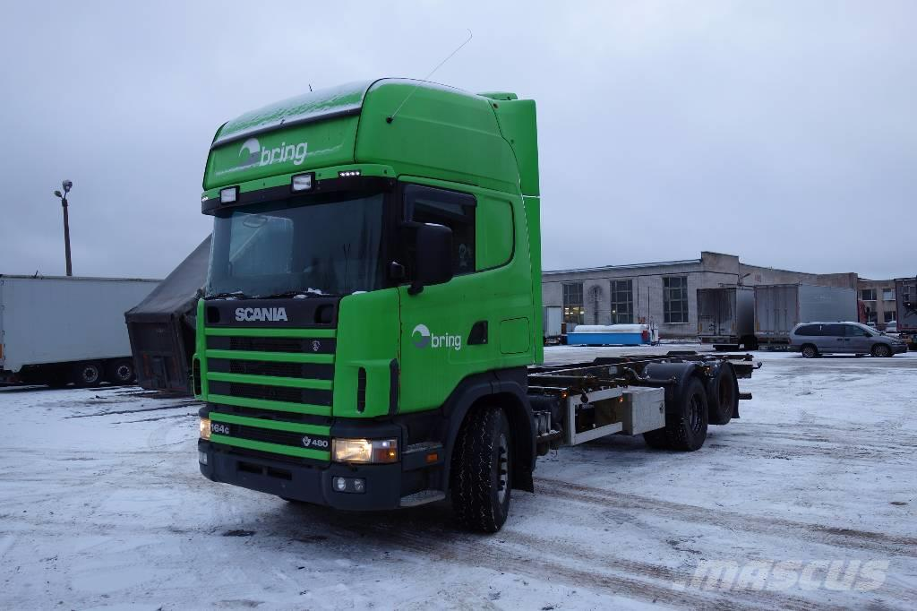 Scania R164 GB6X2NB 480
