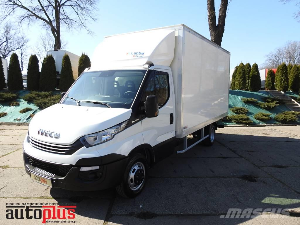 Iveco DAILY 35C16 BOX LIFT 8 PALET A/C TEMPOMAT