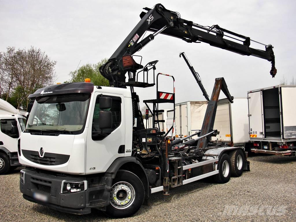 Renault Premium 410.26 Kran Crane HIAB 9,80m-1800kg  Dalby