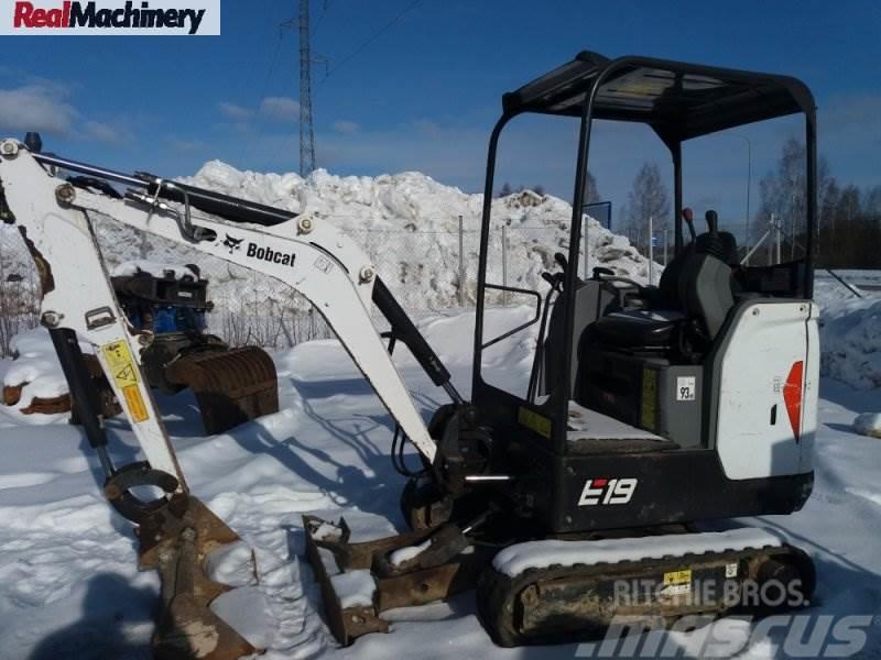 Bobcat E19 Canopy Excavator