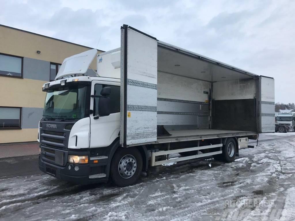 Scania P310 4X2 + ADR + ANALOG TAHHO + BOX HEATING