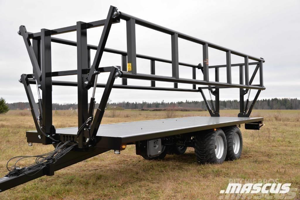 Palmse Balvagn B 3750 14 Ton Med Grindar
