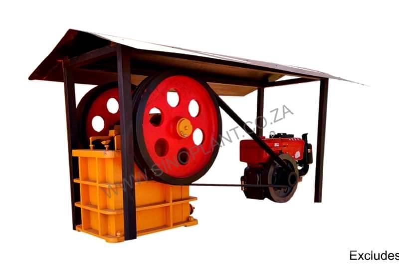 Sino Plant Jaw Crusher 150 x 250 Diesel
