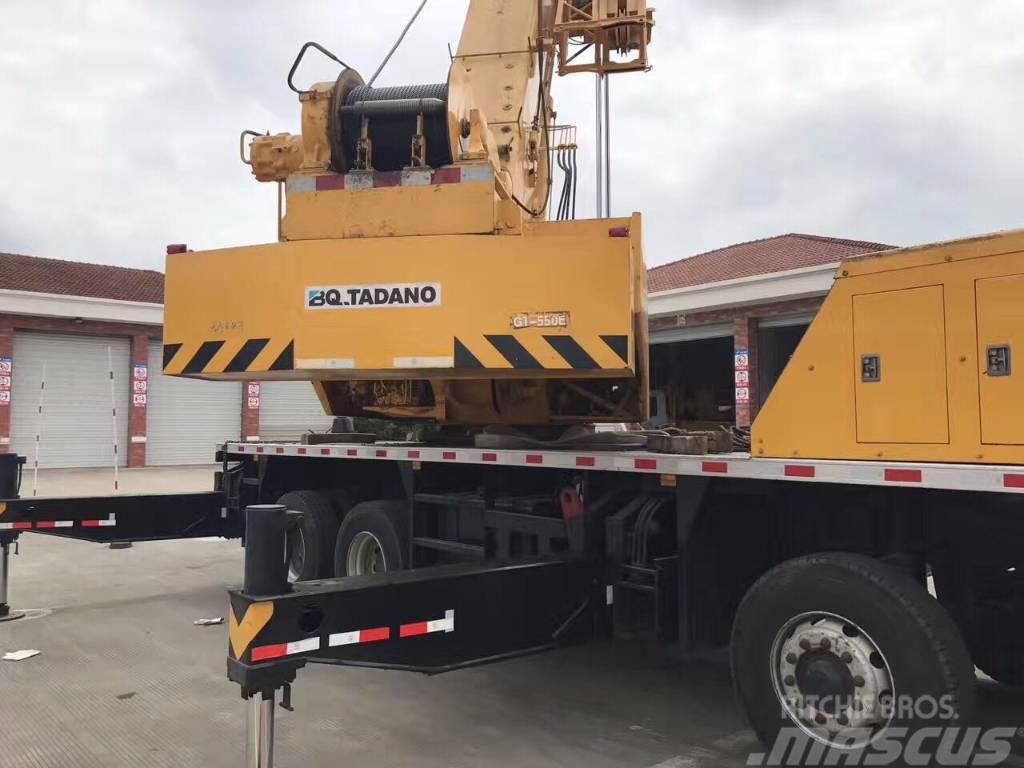 Tadano GT550E  55t  truck crane