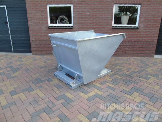 NDH kiepbak kantelbak afvalcontainer heftruck shovel