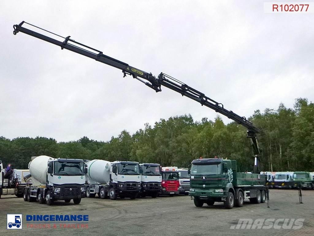 Renault Kerax 420 dci 8x4 + Palfinger PK44002E + jib PJ085