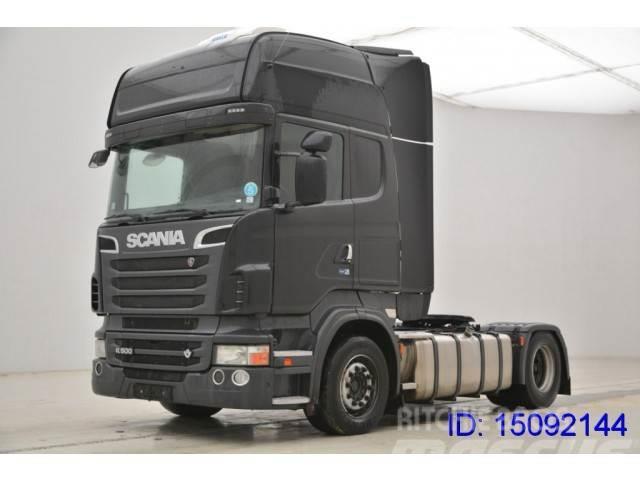 Scania R 500 Topline - Retarder