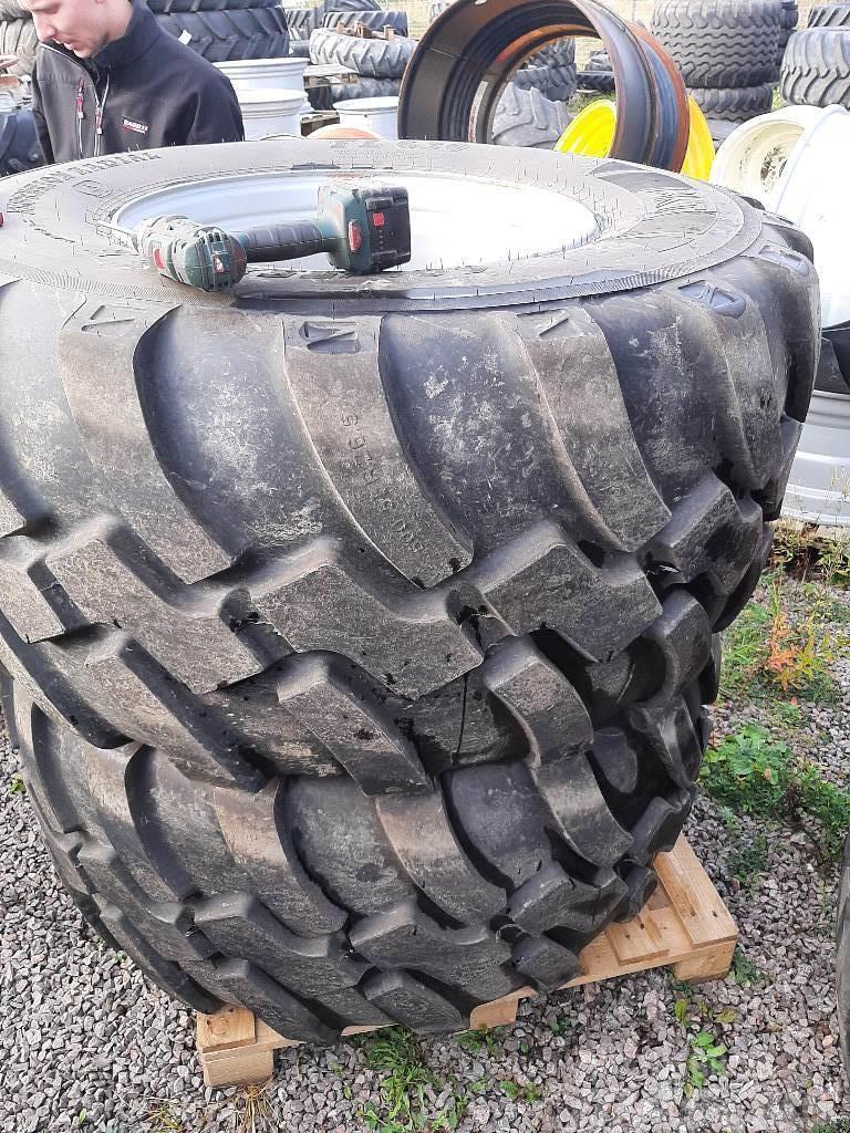 BKT kompletta hjul. 600/55-26,5 radial