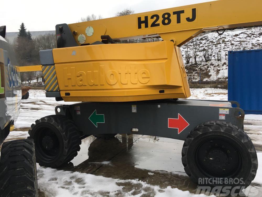 Haulotte H28TJ+, 28m boom lift, 6m jib, 3 units available
