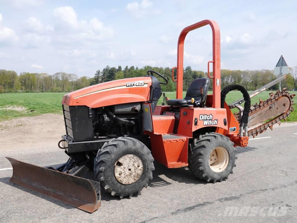Ditch Witch RT45 - Excellent Condition / Low Hours