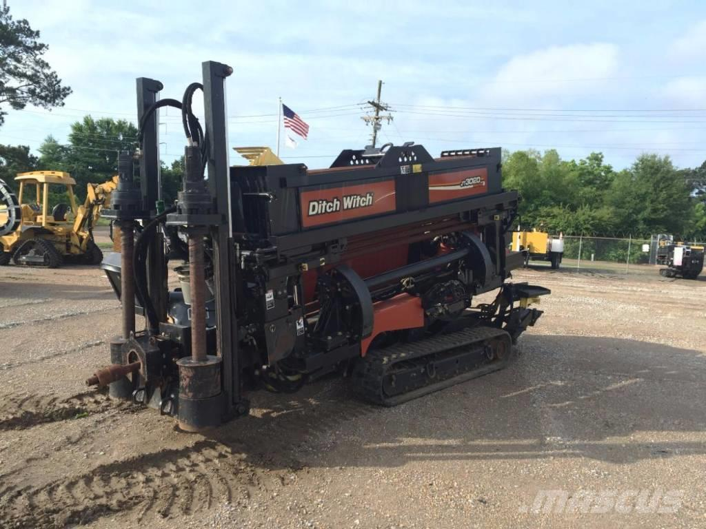 Ditch Witch Jt3020 Directional Drill Horizontal Tunnel