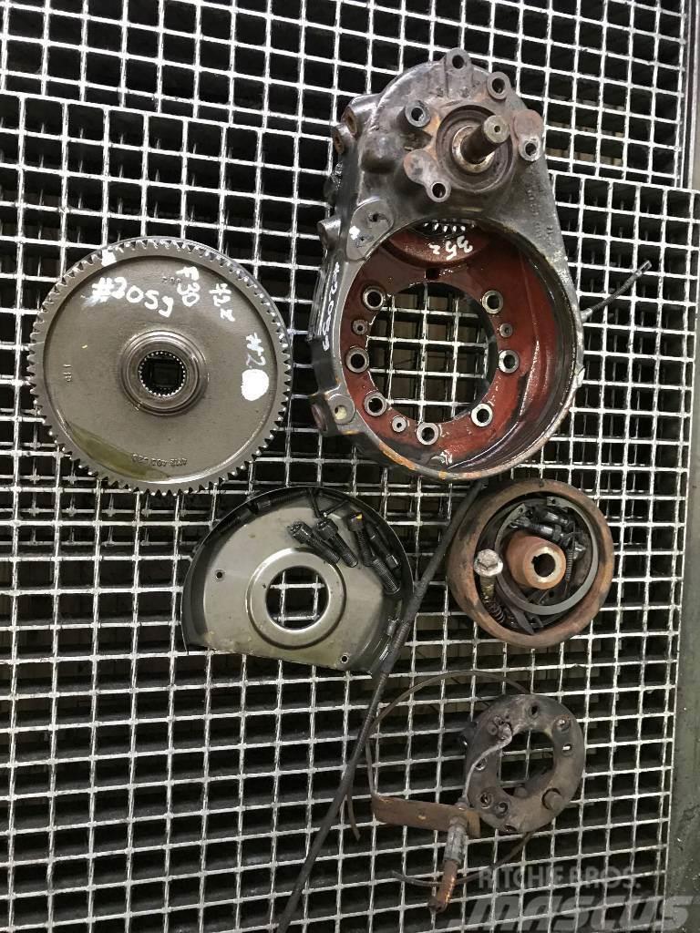 ZF AV 225 Axle Volvo Zettelmeyer ZL 502 Gearbox Axle
