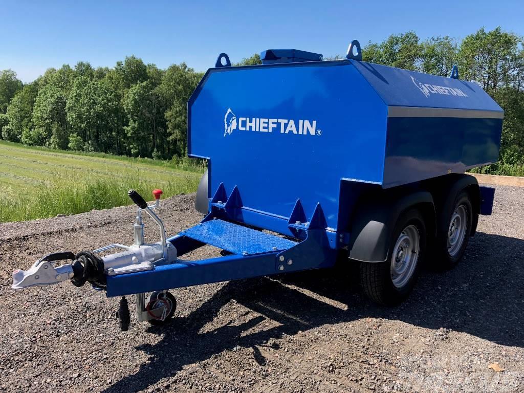 Chieftain Bränslevagn 960 L pump IBC - Kampanj