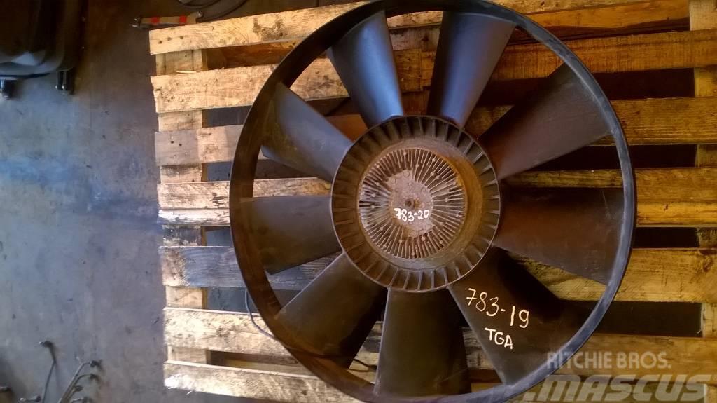 MAN TGA ventilator