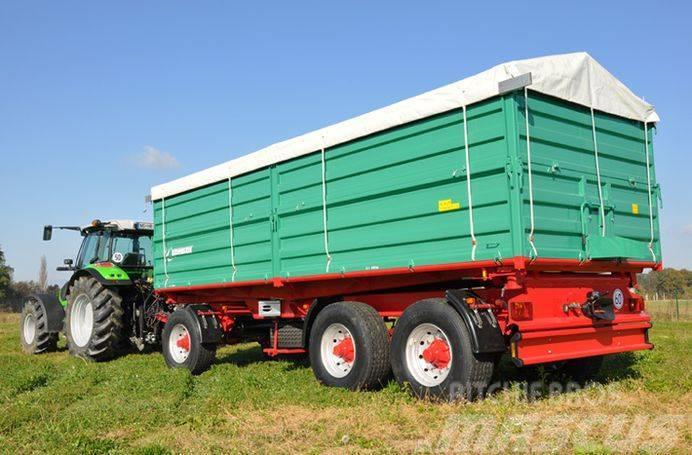 Farmtech DDK-2400 háromtengelyes pótkocsi (27t) AKCIÓBAN!