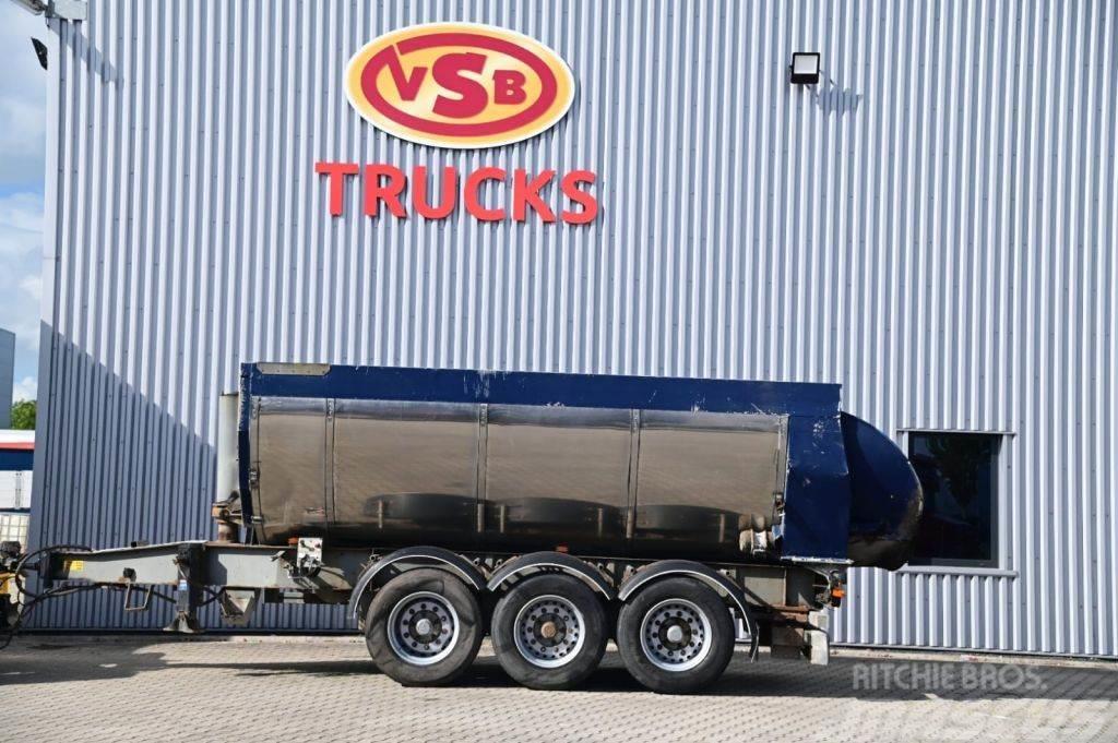 Kel-Berg Kipper Hardox Steel BPW Axle 24 ton