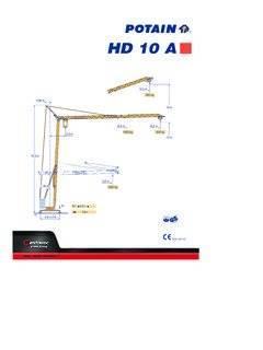 Potain HD 10