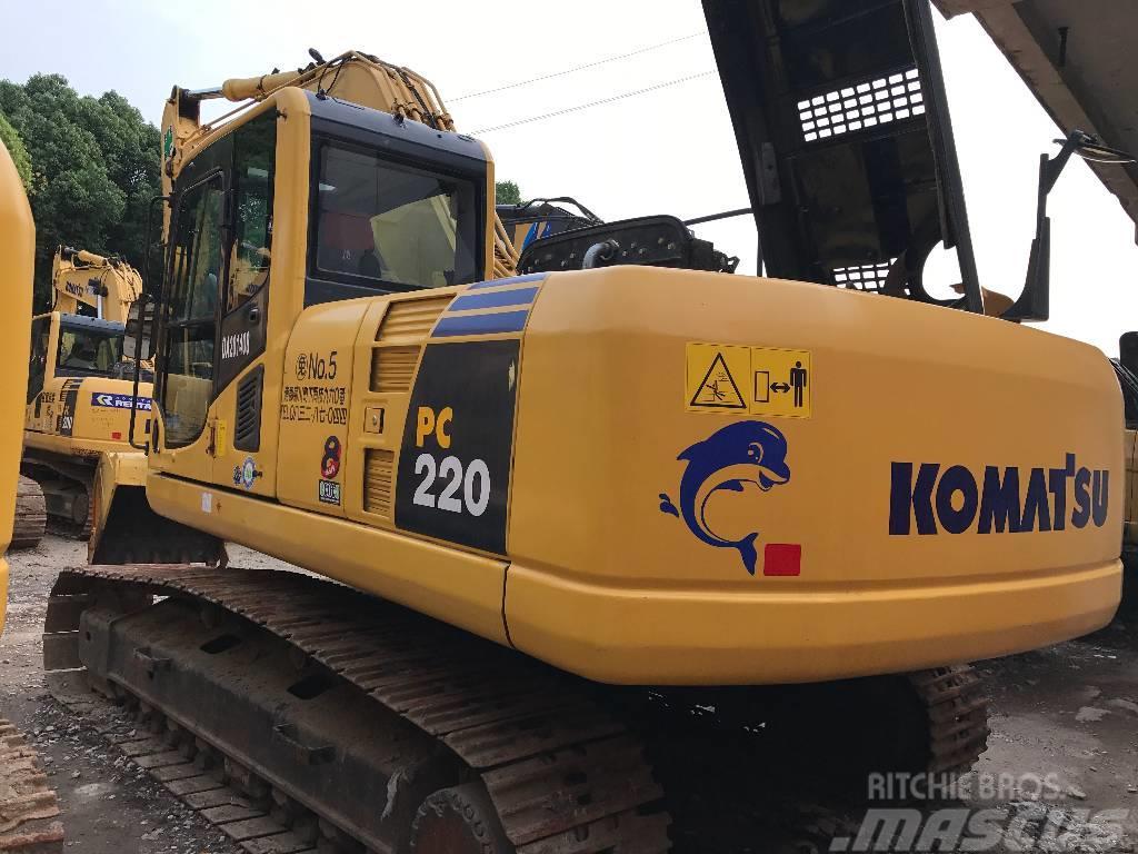 Komatsu komatsu pc220 crawler excavator