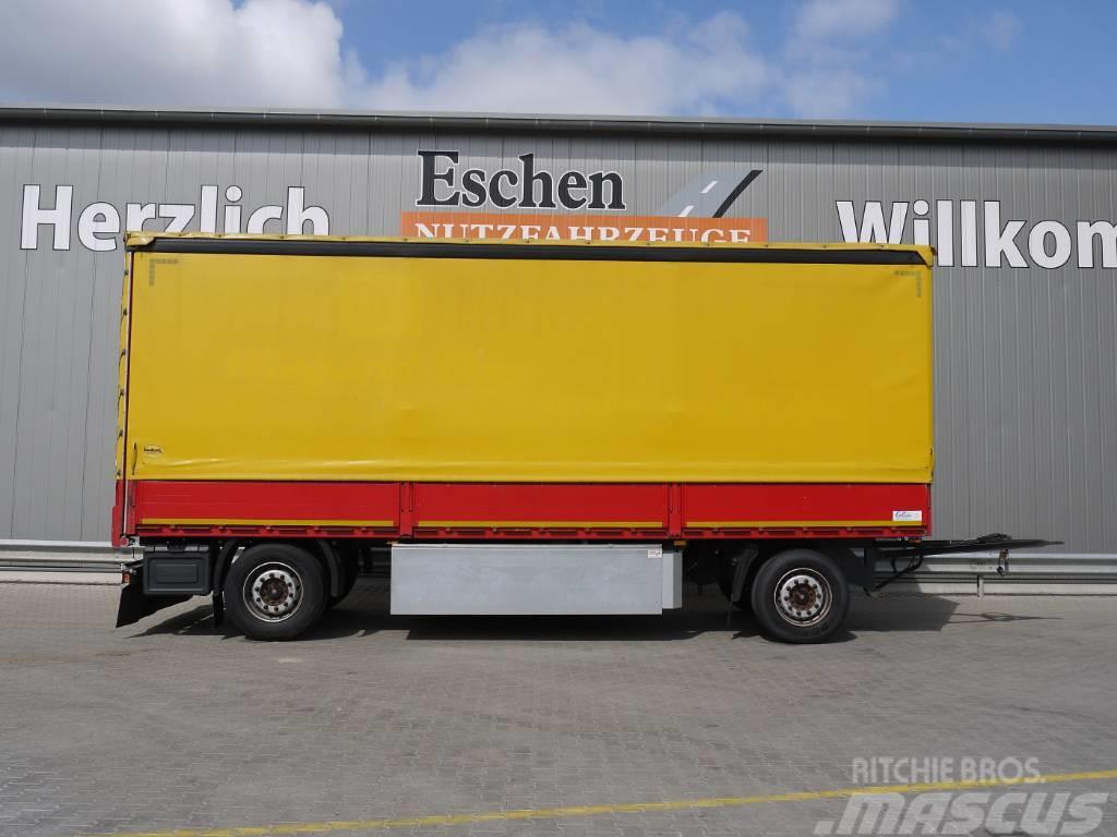 Schmitz Cargobull AFG 18, Schiebeplane, Edscha, Luft, SAF