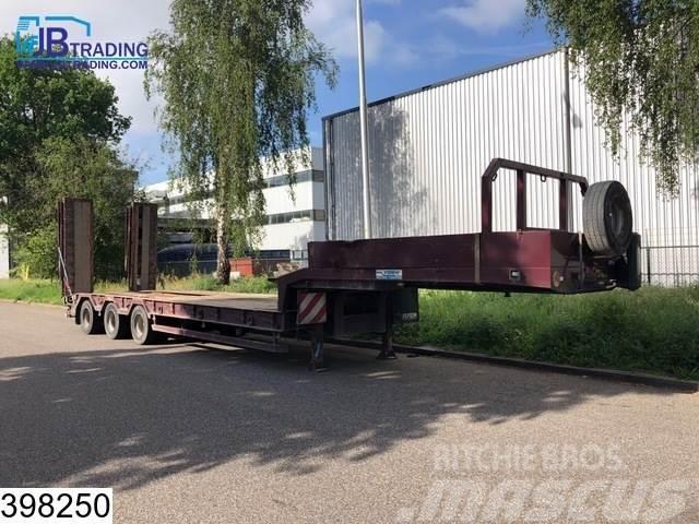 Verem Lowbed 59500 KG, Steel suspension, SEV Winch, Lowb