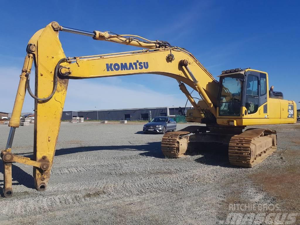 Komatsu PC350NLC-8 - Crawler excavators, Year of manufacture