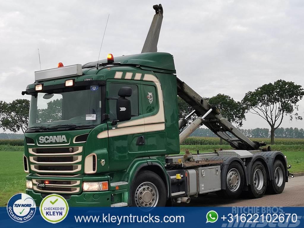 Scania G480 8x2 euro 6 meiller