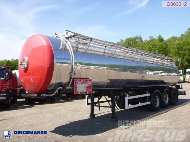 Magyar Food tank inox 30 m3 / 1 comp
