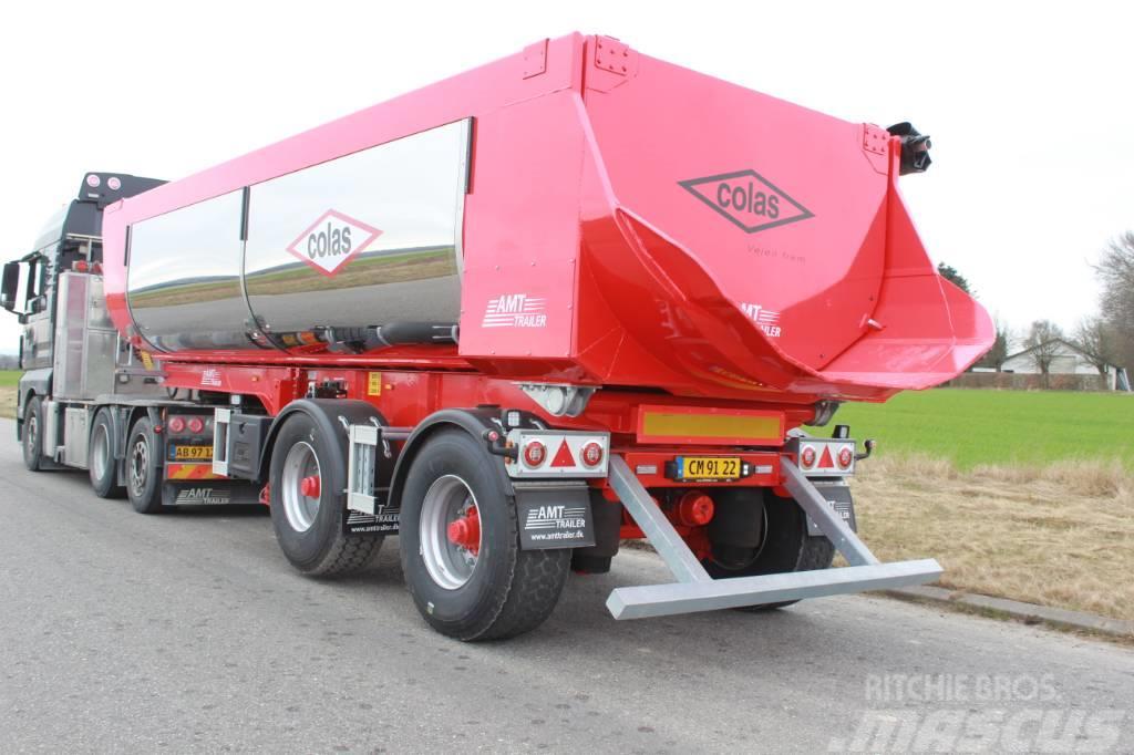 AMT TA200 2 akslet 25m3 asfalt tiptrailer