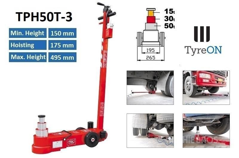 TyreOn TPH50T-3 | Air hydraulic truck jack | 50T