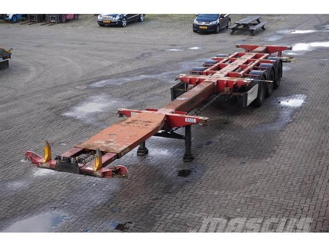 D-tec Container chassis 45ft. / Multi / Lift Axle