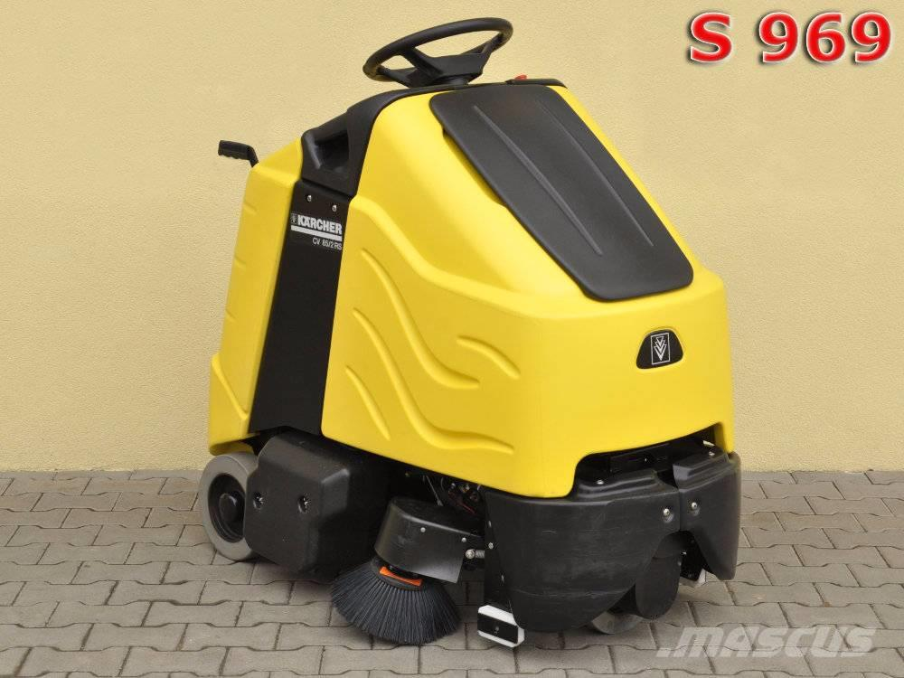 used k u00e4rcher cv 85  2 rs bp sweepers price   2 826 for sale