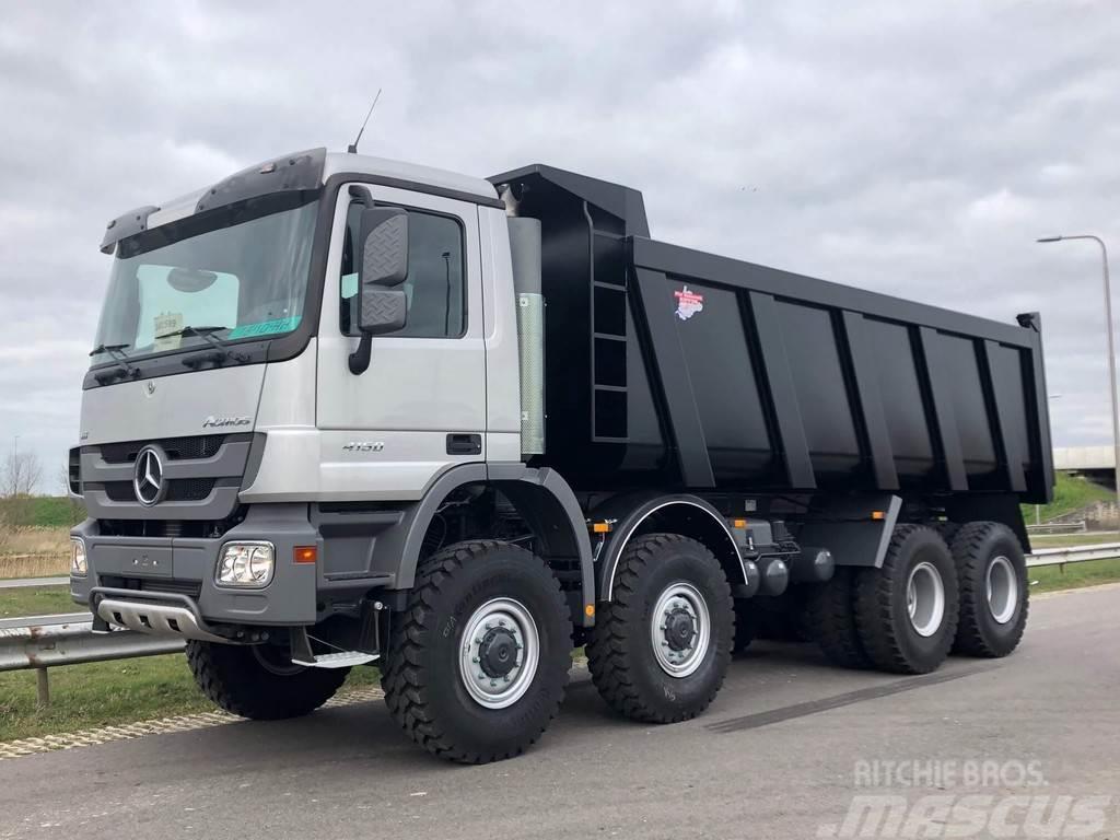 Mercedes-Benz ACTROS 4850(4150) AK 8x8 Heavy Duty Tipper Truck N