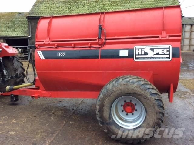 Hi-Spec 800 barrel spreader
