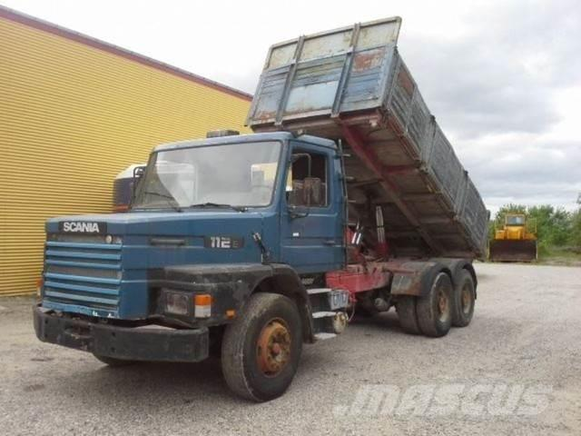 Scania T 113-112 6x4-33 T Tipper Springs Big axles