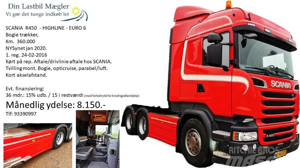 Scania R 450 LA