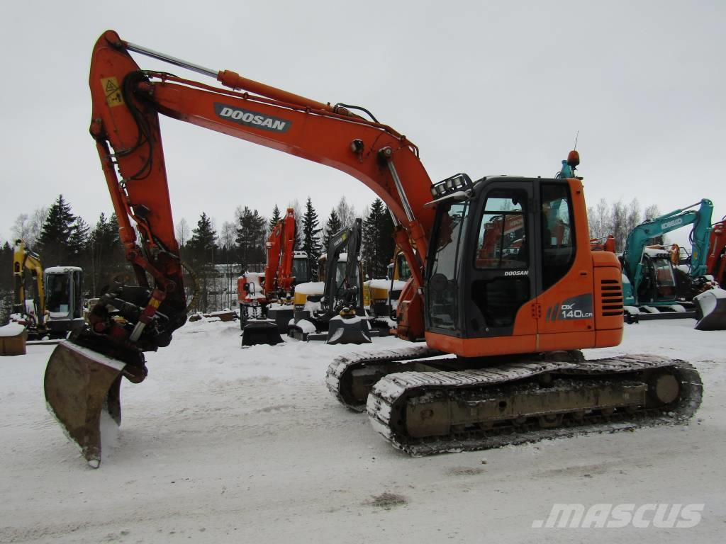 Doosan DX140LCR PROBOPYÖRITTÄJÄ, RASVARI