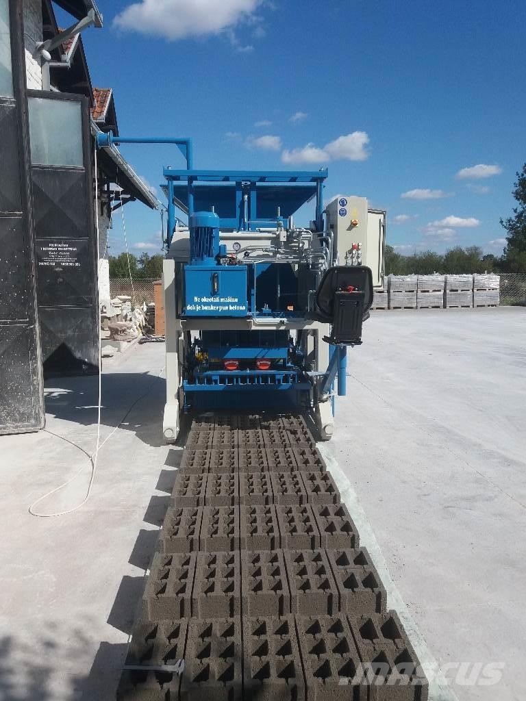 Metalika SVP-533 Egg Layer Concrete Block Machine